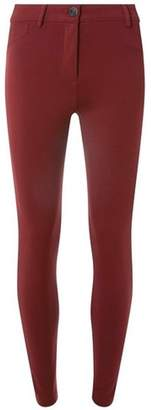 Dorothy Perkins Womens Berry Red One Button Treggings
