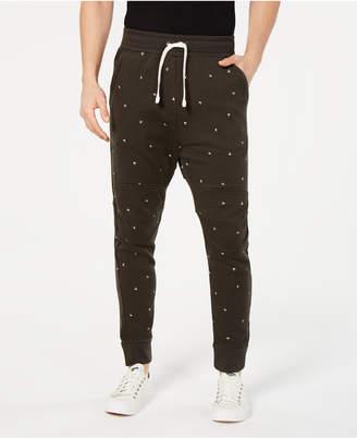 G Star Men's Letter-Print Sweatpants