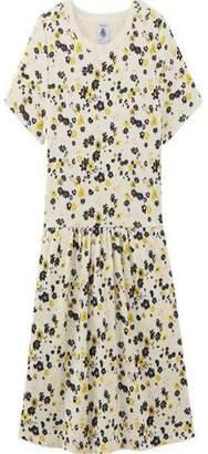 Petit Bateau Floral Print Dress