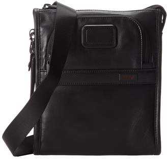 Tumi Alpha 2 - Leather Pocket Bag Small Bags