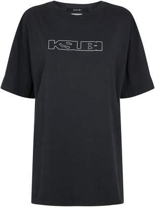 Ksubi x Kendall Jenner Logo Print T-Shirt