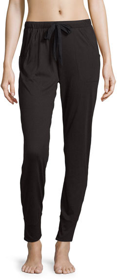 Cosabella Cosabella Arizona Jogger Lounge Pants, Black