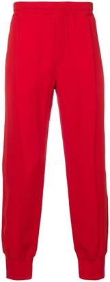 Alexander McQueen high waisted track pants
