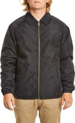 Brixton Claxton Water Repellent Jacket with Faux Shearling