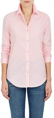 Barneys New York WOMEN'S COTTON POPLIN BUTTON-DOWN BLOUSE