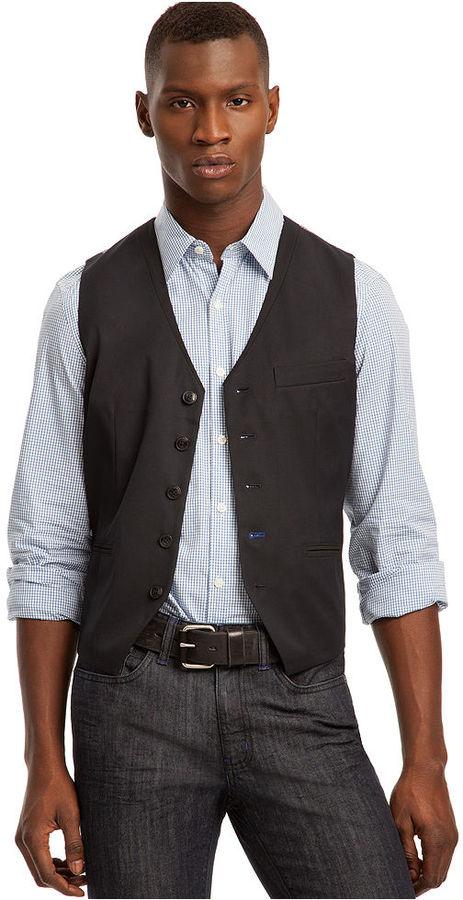 Kenneth Cole Reaction Vest, Besom Pocket Vest