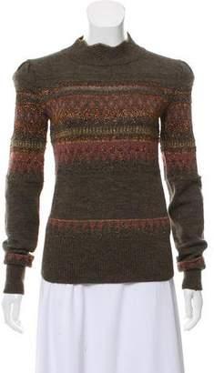 Etoile Isabel Marant Wool Patterned Sweater