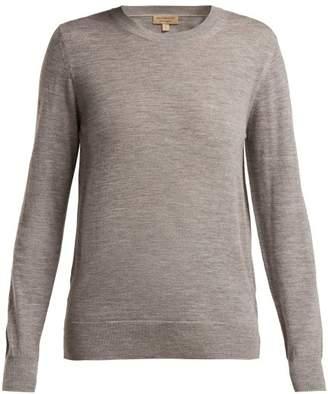 cd52dea80f Burberry Gray Merino Wool Women s Sweaters - ShopStyle