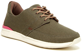 Reef Rover Low Olive Lace-Up Sneaker (Women) $70 thestylecure.com