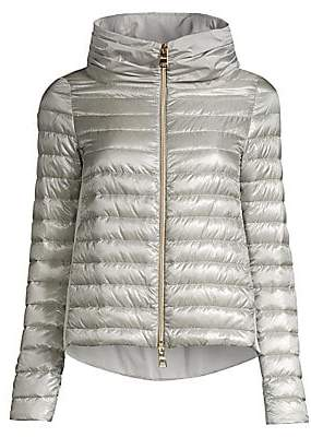 Herno Women's Taffeta Down Puffer Jacket