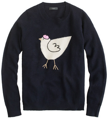 J.Crew French hen sweater