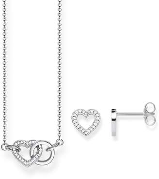 Thomas Sabo Together Necklace & Earrings Set