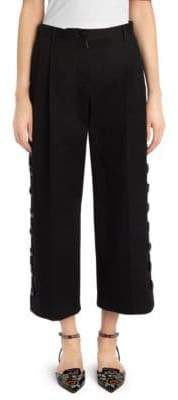 Dolce & Gabbana Cropped Wide-Leg Pants
