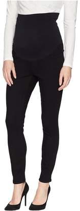 NYDJ Skinny Maternity Ankle in Black Women's Jeans