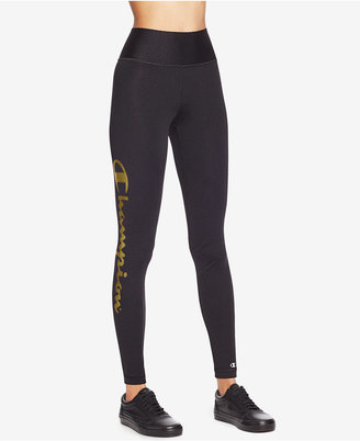 Champion Absolute Logo Leggings $50 thestylecure.com