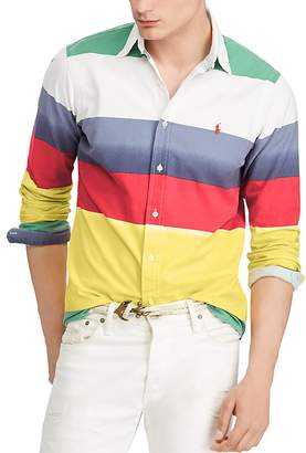 Polo Ralph Lauren Classic-Fit Striped Cotton Oxford Shirt