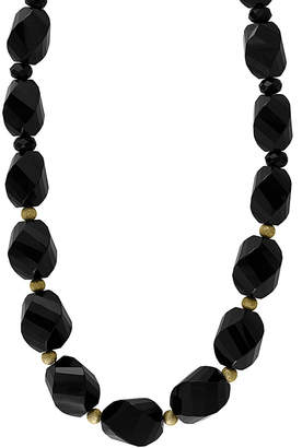 Effy Fine Jewelry 14K 317.20 Ct. Tw. Onyx Necklace