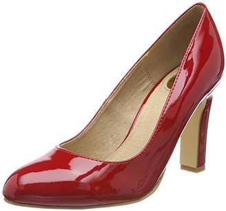 Buffalo Women's LS80437-9C Patent Closed Toe Heels Buy Cheap Lowest Price Up To Date Outlet Store pFQ1xkeDi