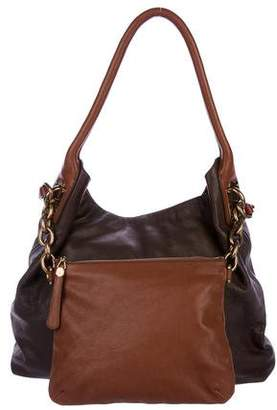 Dolce & Gabbana Pebbled Leather Satchel w/ Tags