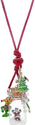 Kirks Folly Santa In a Bottle Cord Necklace