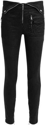 RtA Diavolina Foldover Black Pants