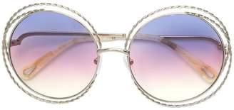 Chloé (クロエ) - Chloé Eyewear ラウンド サングラス