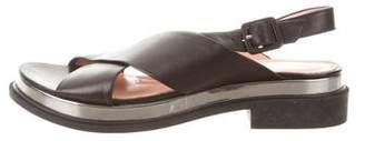 Robert Clergerie Clergerie Paris Slingback Cross-Over Sandals