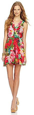 BB Dakota Floral-Print Dress