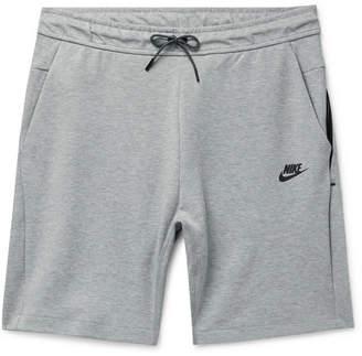 Nike Mélange Cotton-Blend Jersey Drawstring Shorts