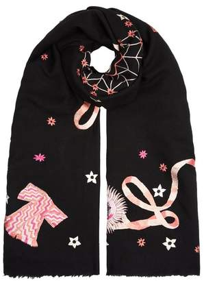 Temperley London Kite Embroidered Shawl