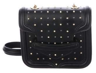 Alexander McQueen Embellished Leather Crossbody Bag