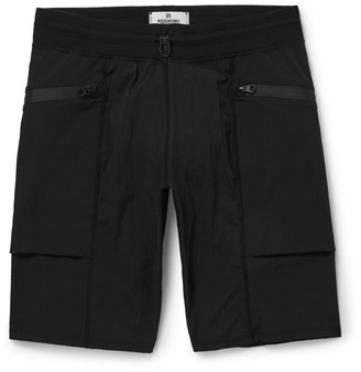 Reigning Champ Slim-Fit Textured Stretch-Shell Shorts $160 thestylecure.com