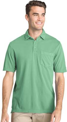 Izod Men's Regular-Fit Pigment-Dyed Stretch Polo