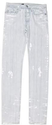 Christian Dior Splatter Skinny Jeans Splatter Skinny Jeans