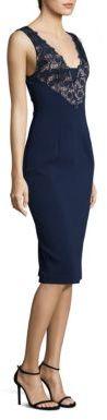 Black Halo Dovinna Sheath Dress $390 thestylecure.com