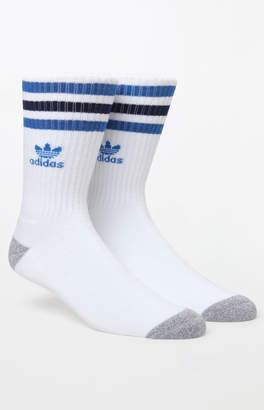 adidas Roller Blue/Grey Crew Socks