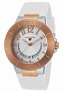 Swiss Legend Women's 11315SM-SR-02-WHT Riviera Analog Display Swiss Quartz Watch