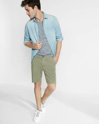 Express Slim Fit 9 Inch 4 Way Stretch Shorts