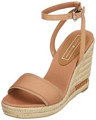 5e53ade0ab8 Tommy Hilfiger Women s Iconic Elena Tommy Pastel Platform Sandals