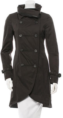 Mackage Double-Breasted Trench Coat $180 thestylecure.com