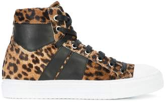 Amiri Sunset hi-top sneakers