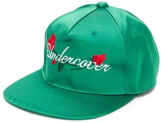 Undercover embroidered logo baseball cap