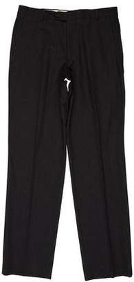 Burberry Woven Flat Front Pants
