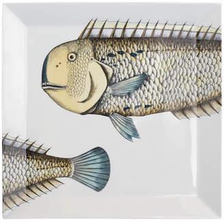 Fornasetti Pesce Lampuga Square Tray