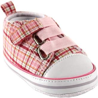 Luvable Friends Baby Girl Plaid Sneakers