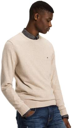 Tommy Hilfiger Cotton Cashmere Crewneck Sweater