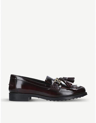 Tod's Tods Tasselled fringed leather loafers