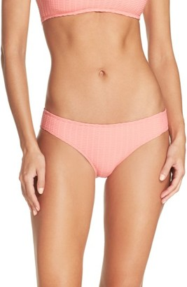 Women's Lucky Brand Sucker For Pretty Hipster Bikini Bottoms $56 thestylecure.com