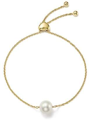 Bloomingdale's Cultured Freshwater Pearl Bolo Bracelet in 14K Yellow Gold, 9mm - 100% - Exclusive