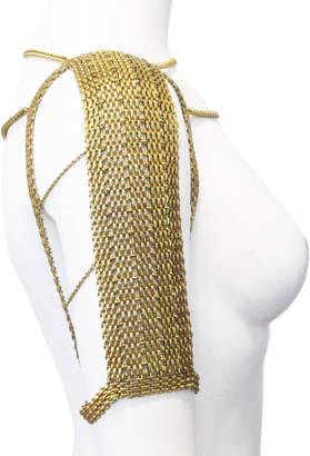 Louise Manna Doeskin Shawl Necklace